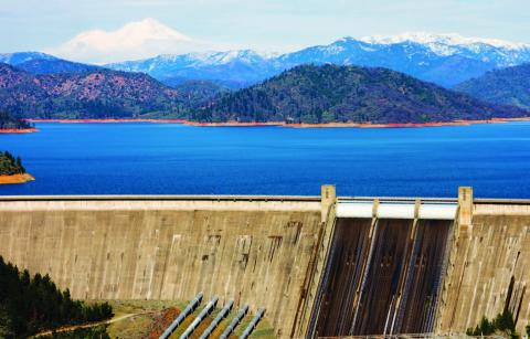 Photo of Shasta Lake