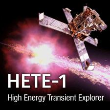 HETE 1 Mission Image