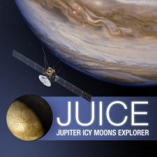 Illustration of Juice mission spacecraft