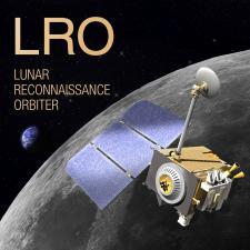 Artistic render of Lunar Reconnaissance Orbiter (LRO)