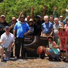 Group photo of Exploratorium team