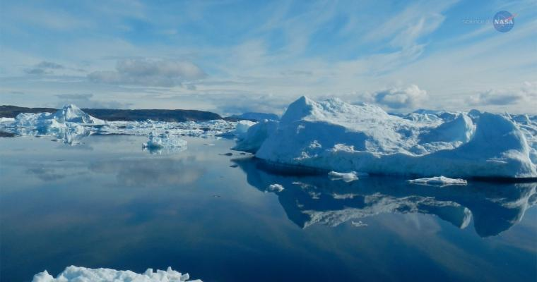 Greenland's Thinning Ice Poster