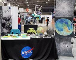 NASA Goddard's Moon table/booth