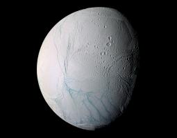 Close Encounter with Enceladus Poster