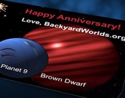 Planet 9 and Brown Dwarf