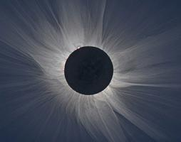 Total eclipse image taken Mar. 20, 2015 at Svalbard, Norway