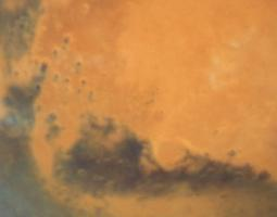 Hubble image of Mars