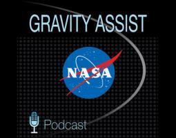 Gravity Assist Podcast Logo