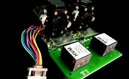 3D rendering of Dual VUV Photomultiplier tubes