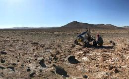 The K-REX2 rover is being tested in the Atacama Desert