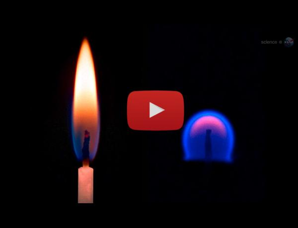 ScienceCasts: Strange Flames on the International Space Station