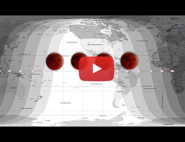 ScienceCasts: A Tetrad of Lunar Eclipses