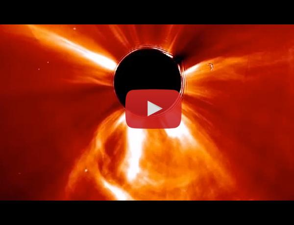 ScienceCasts: Carrington-class CME Narrowly Misses Earth