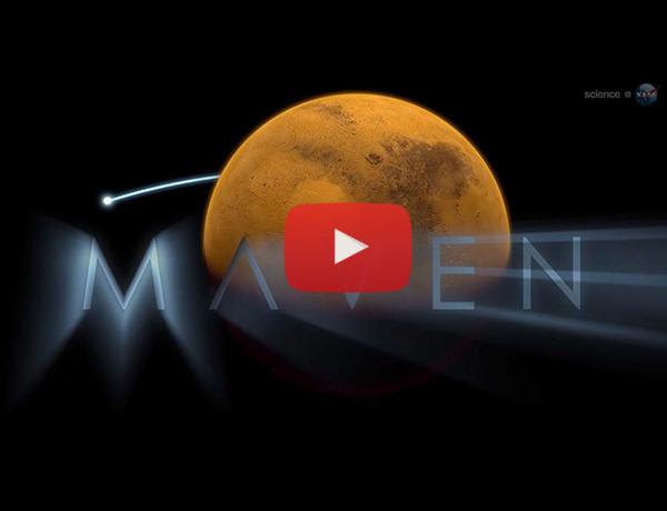 ScienceCasts: First Light for MAVEN