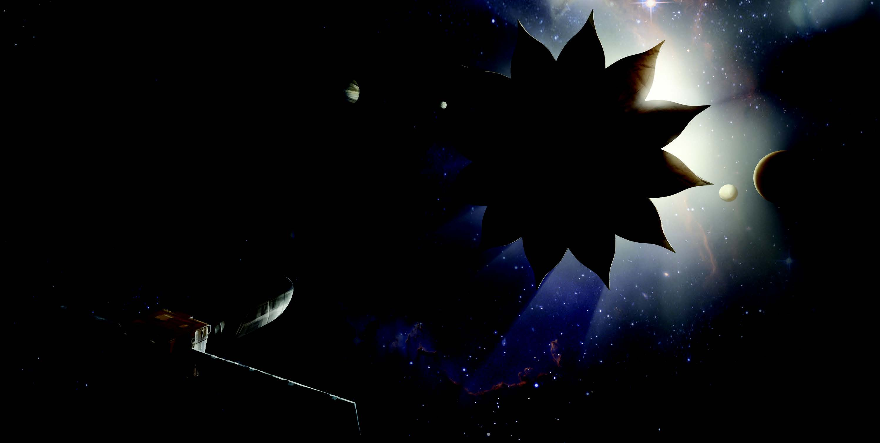 Image result for Starshade/Coronagraph